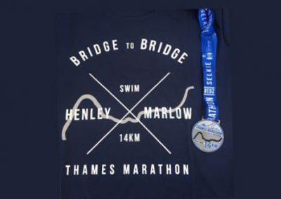Thames Marathon 14.3km