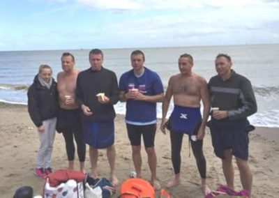 Walton Pier to Clacton Pier, 7.5 miles, The Masters Team
